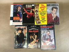 Live Concerts, Music Videos, VHS Bulk Lot 7 Tapes