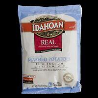 Idahoan Low Sodium with Vitamin C Real Mashed Potato, 25.2 Ounce -- 12 per case.