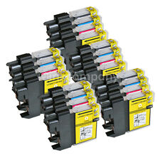 20 DRUCKER PATRONEN LC 980 BROTHER DCP 145c 165c 167c 195c 365c MFC 250c 255cw