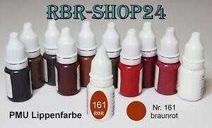 Permanent Makeup Farbe Microblading make-up Farbe Pigmentierfarben braunrot