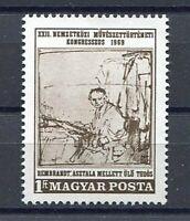 32303) Hungary 1969 MNH Rembrandt 1v. Scott #1989