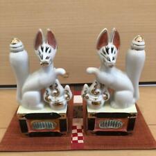 Inari-sama Fox Japanese Shrine Shinto Japan Retro Antique Kamidana