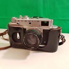Zorki 4 35mm film camera + jupiter 8 lens +case (L3)