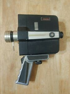 Vintage Bell and Howell 8mm Film Movie Camera Animation Auto Load Zoom Reflex