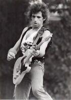 KEITH RICHARDS PHOTO THE STONES 1982 VINTAGE UNIQUE ELITE  IMAGE UNRELEASED GEM