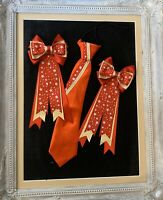 show tie and bows In RED Navy /& GOLD Stars childs equestrian showing set