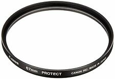 OFFICIAL Canon 67mm Protect Screw-In Lens Protector / AIRMAIL with TRACKING