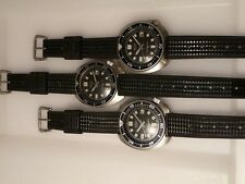 19mm rubber WAFFLE v2 strap for SEIKO 6105 6217 150m diver