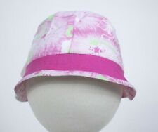 STARTING OUT NWT GIRLS NEWBORN  HAT PINK GREEN FLORAL FLOWERS SPRING SUMMER  NEW