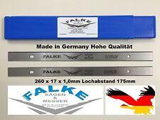 Scheppach Plana 3.0 2 Stück Einweghobelmesser Wendemesser Ersatzmesser