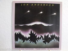 """★★ 12"""" MAXI-Jon Anderson-easier Said Than Done-three Ships-OH Holy Night"""