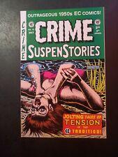 Crime Suspenstories #19  EC Horror Reprint! Strangulation Gemstone 1997 VF/NM