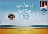 2018 AUSTRALIA POST BALLOT 009/150  ROYAL BIRTH SILVER COIN PNC  UNCIRCULATED