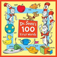 Dr. Seuss's 100 First Words by L.P. Seuss Enterprises (2018, Board Book)