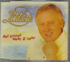 Koos Alberts-Het Wordt Weer Zomer cd maxi single