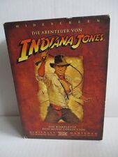 4 DVD Box Indiana Jones Trilogie Die komplette Movie Collection