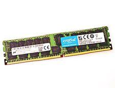 16GB Micron PC4-2133P MTA36ASF2G72PZ-2G1B1QK ECC REG SERVER RAM #721549