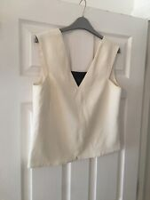 Rag And Bone Cream Tunic Top Size Small Sleeveless