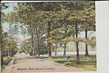 Early 1900's The National Cemetery in Memphis, Tn Tennessee PC