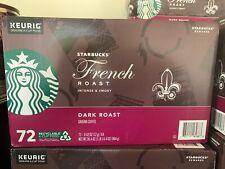 Starbucks French Roast Coffee K-Cups 72 ct. - Free shipping! Dark Roast Keurig