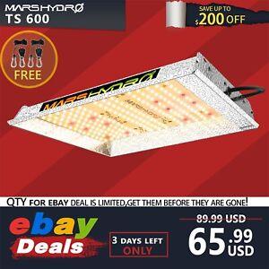 Mars Hydro TS 600W LED Grow Light Full Spectrum for Indoor Plants Veg Bloom IR