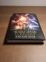 Star Wars The Force Awakens HC Novelization by Alan Dean Foster BN Special Edit