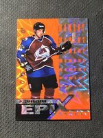 1997-98 PINNACLE PETER FORSBERG EPIX MOMENT ORANGE #E-14