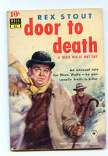 Door to Death by Rex Stout-First Edition
