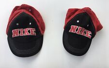 Two Nike Todler Hats Red /Black Hats