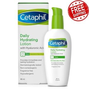 Cetaphil Face Daily Boosts Skin Hydration Lotion Hyaluronic Acid 88ml