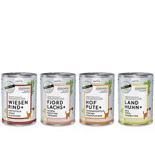 naftie Bio Hundefutter Nassfutter Menüs Testpaket 4 Sorten, 4 x 400g