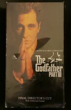The Godfather Part Iii Vhs Brand New Sealed