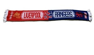 Glasgow Rangers Liverpool Fc Scarf
