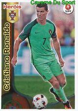393 CRISTIANO RONALDO HEROIS DO PORTUGAL EURO 2014 STICKER FUTEBOL 2017 PANINI