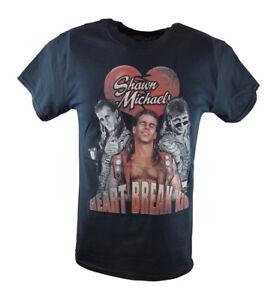 Shawn Michaels Heartbreak Kid 3 Pose WWE Mens T-shirt