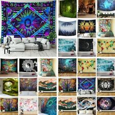 US Ship Trippy Hippie Mandala Tapestries Room Wall Hanging Psychedlic Tapestries
