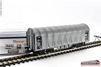 ROCO 76442 - H0 1:87 - Carro merci telonato AAE modello Shimmns grigio Ep. VI