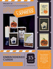 Anita Goodesign Express Halloween Embroidered Cards Embroidery CD (CD ONLY)