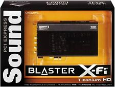 Creative Sound Blaster X-Fi Titanium HD Internal PC Audio Card w/ THX SB1270 VGC