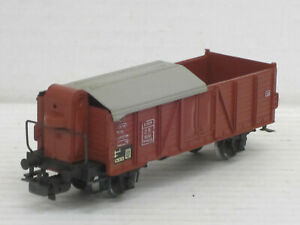 Hochbordwagen / Hochbordwaggon, braun, Märklin, 1:87 / HO, no OVP, altes Modell