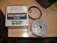 filtro carburante nafta tecnocar N-1117 fiat alfa romeo volvo fuel filter