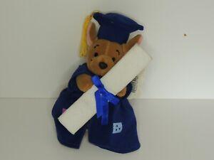 Disney Graduation Roo Mouseketoys Plush teddy 19cm tall