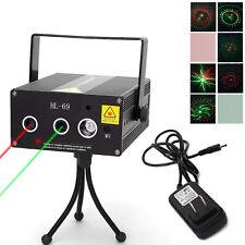 LED Laser Projektor KTV DJ Show Licht Effekt Holographic Beleuchtung Karaoke DE