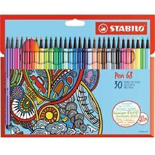 Stabilo Fasermaler Pen 68, 30er Karton-Etui, Hobby, Spiel, Spaß, zeichnen, Deko