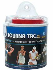 Tourna Tac XL - Blue - 30 Pack Overgrip Tour Travel Pouch Overgrips Tennis