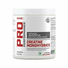 GNC Pro Performance Creatine Monohydrate 3000 mg Supplement 250 gm FS