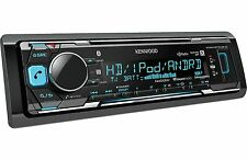 New Kenwood KMM-BT518HD MP3/WMA Digital Media Player Bluetooth HD Radio SiriusXM