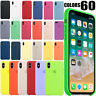 CASE FOR APPLE IPHONE 7 8 PLUS X XS MAX XR ORIGINAL SILICONE OEM COVER NEW COLOR