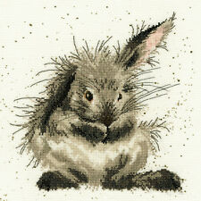 BOTHY THREADS BATH TIME RABBIT HANNAH DALE COUNTED CROSS STITCH KIT XHD16