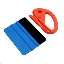 Auto Body Snitty Safety Vinyl Cutter Felt Edge Squeegee Car Wrapping Tool Kit LA